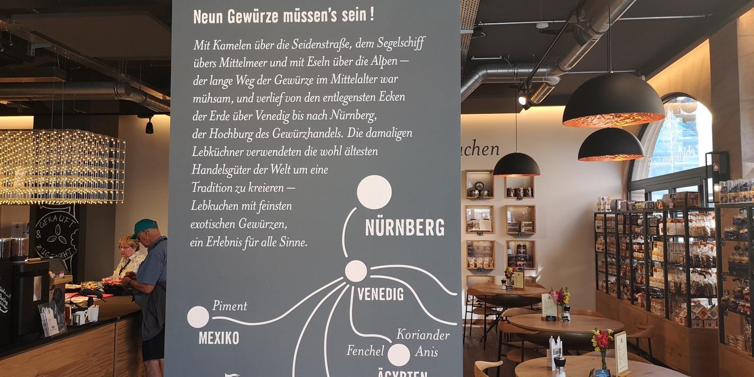 Nürnberg, eine wichtige Handelsstadt für Gewürze
